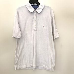 Tommy Hilfiger white towel shirt